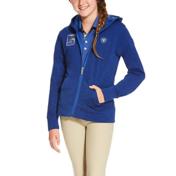 Ariat Childs FEI Milton Hoodie Mazarine Blue