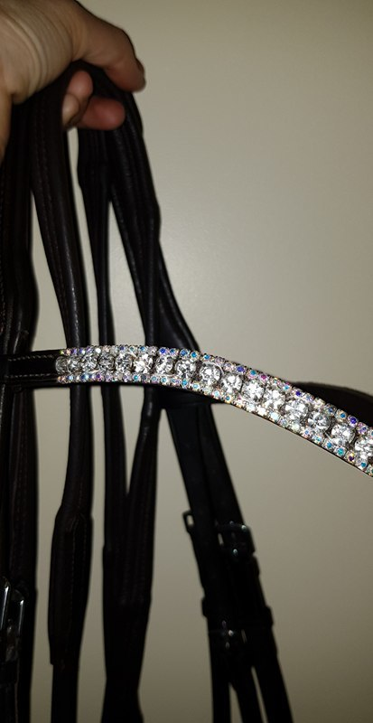 FLEXIBLE FIT AB WAVE BROWBAND AND BRIDLE