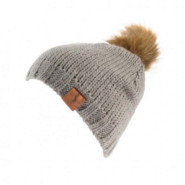 Horze knitted hat Grey