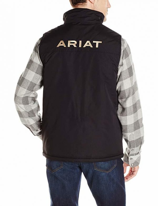Ariat Mens Team Vest Black