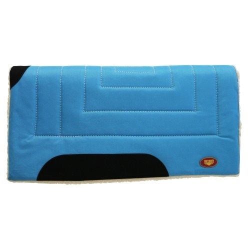 "Fort Worth Work Saddle Pad Turquoise 31""x 32"""