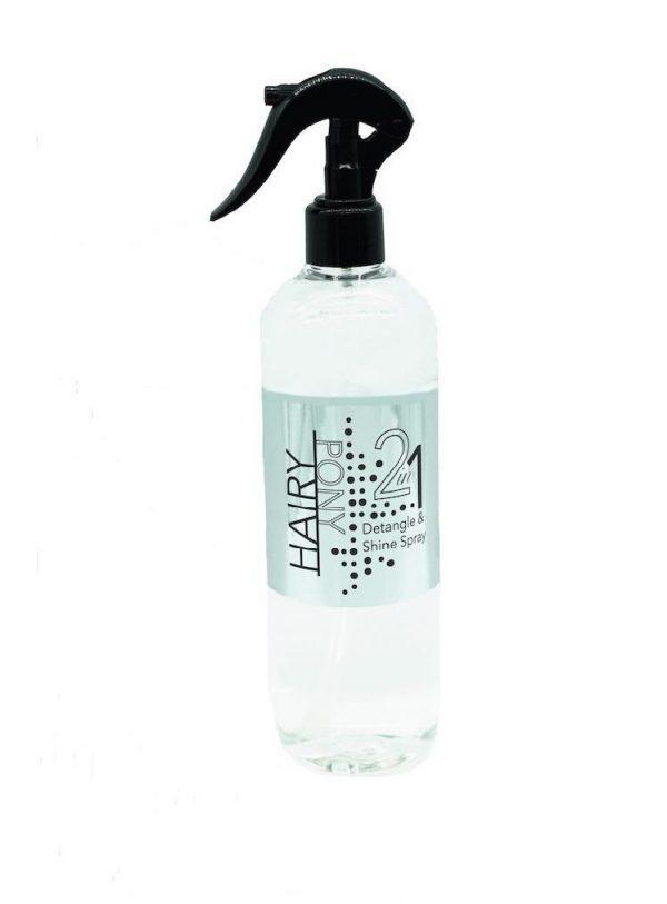 2 in 1 detangle & Shine Spray- Hairy Pony