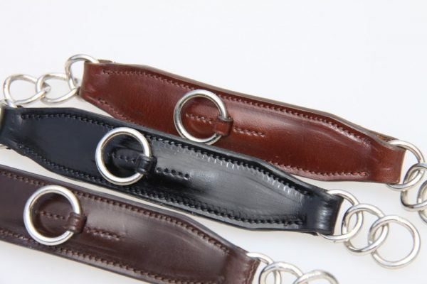 Imperial Collection Leather Curb Chain