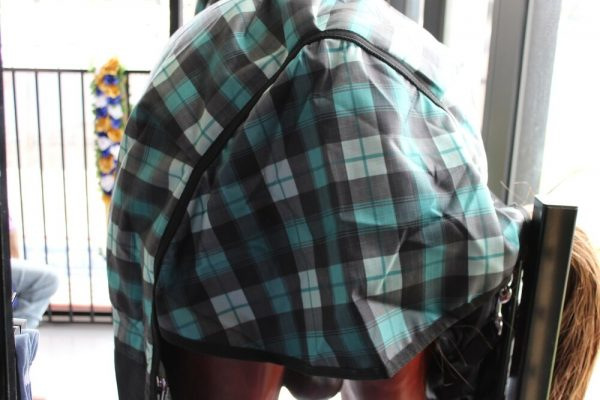 Heads To Tails Winter combo~Black/Teal Check