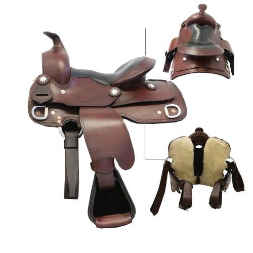 Texas-Tack Childs Western Saddle