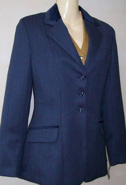 Tagg Jacket Blue Tweed size 28