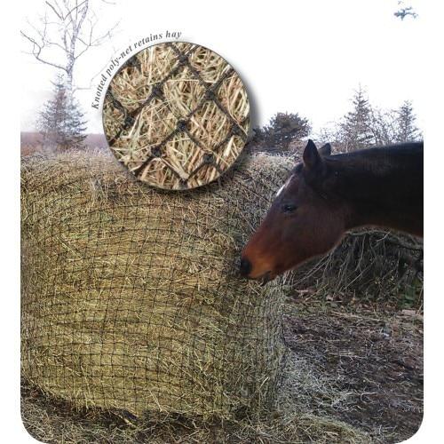 Show Master Poly round bale slow feeder Haynet