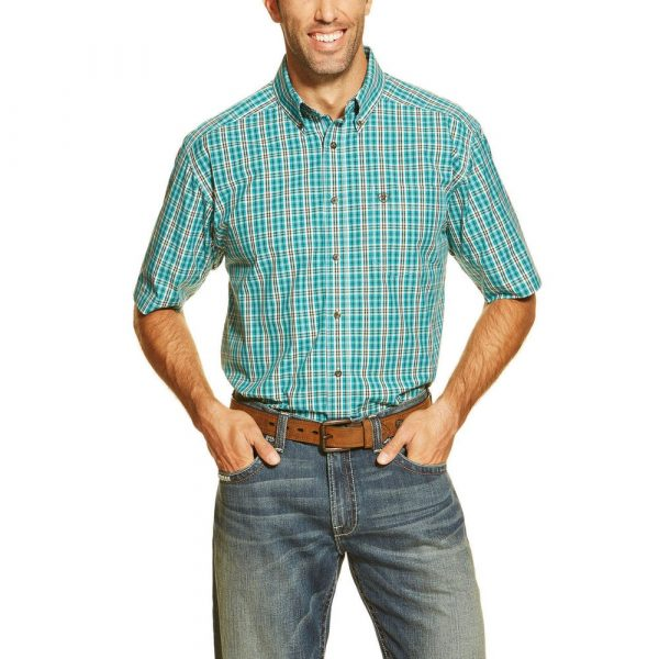 Ariat Mens Daly SS Perf Shirt SMALL ONLY