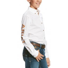 Ariat Boys Team Poplin Shirt