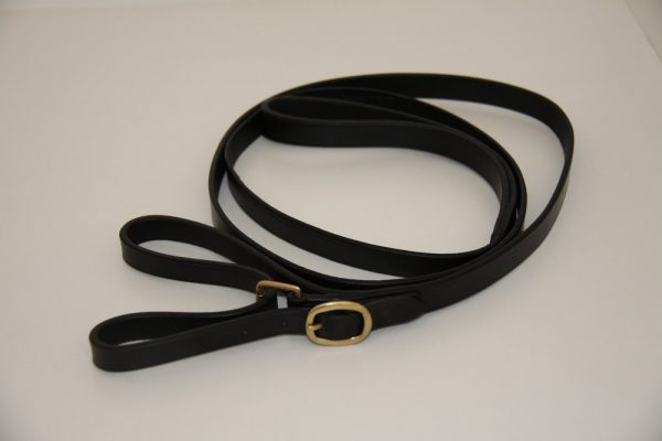White Horse Leather Butterfly Lead