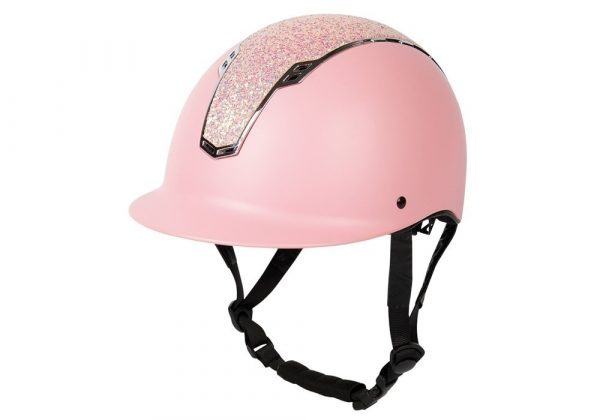 Safety Helmet Pink crystals