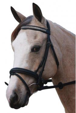 THREE LAYERS OF DIAMINDS BRIDLE