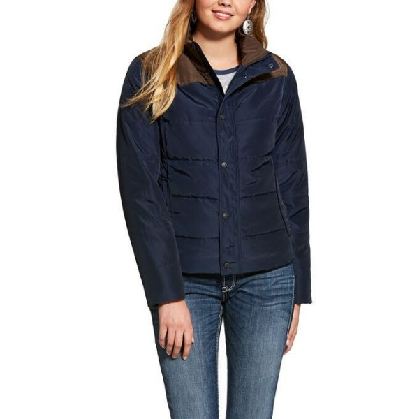 F20 Ariat Womens Lily Jacket Navy