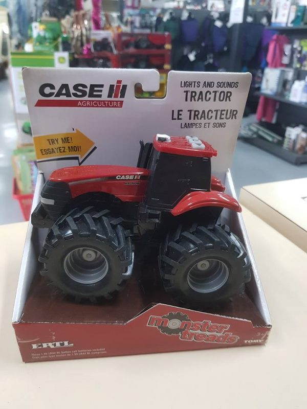 case Agriculture Light and sound Tractor
