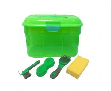 SHOWCRAFT GROOMING BOX - 5 PIECES - GREEN