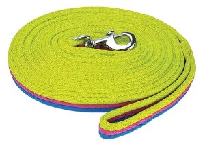 Brite Lunge Lead - Royal/Pink/Lime