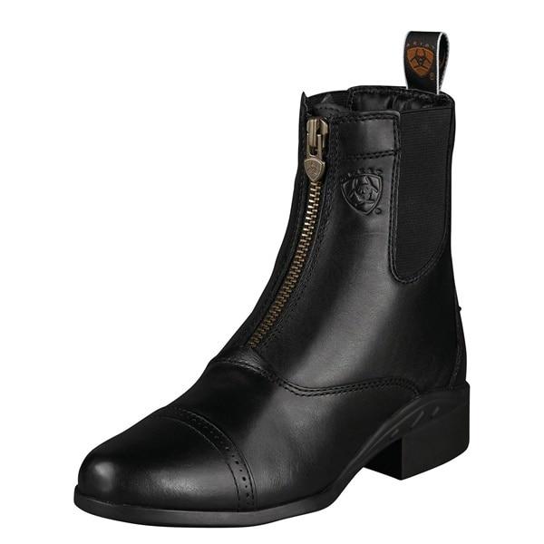 Ariat womens Heritage III Zip Paddock BLACK