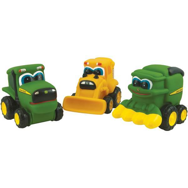 Johny Tractor Soft Small Vehicle Assorted