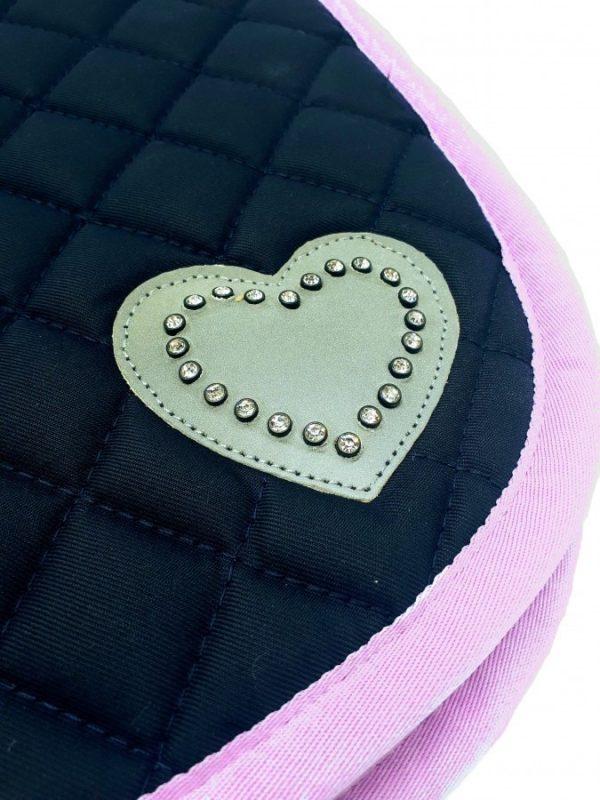 Horze Pony Pad with love heart