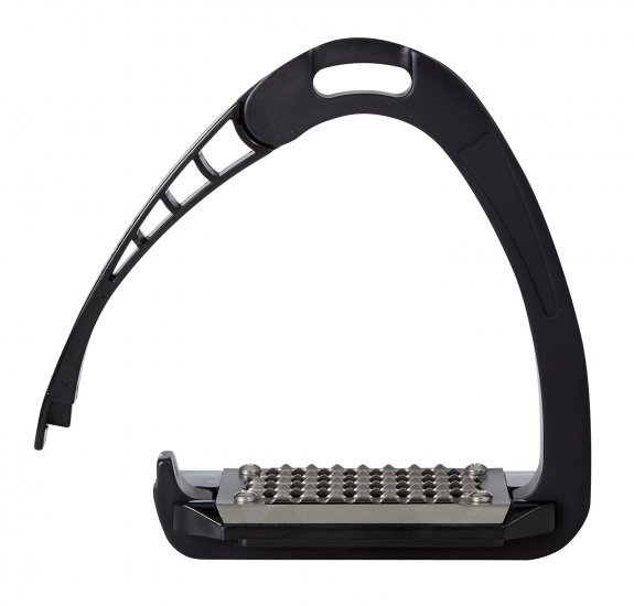 Acavallo Arena Alupro Safety Stirrups-Black