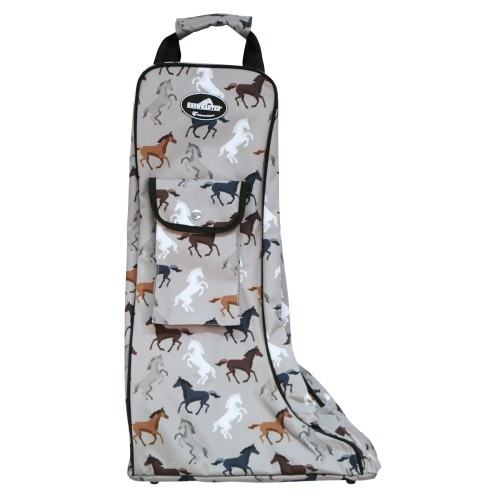 Showmaster Tall Boot Carry Bag Horse Print - Limited Edition