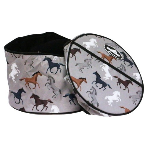 Showmaster Helmet Carry Bag Horse Print - Limited Edition