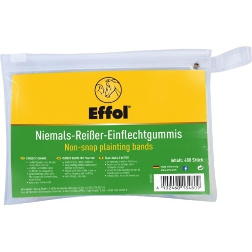 Effol Non-Snap Plaiting Bands - 400 Pack