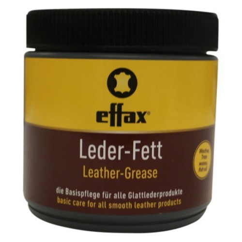 Effax Leather-Grease Black 500ml