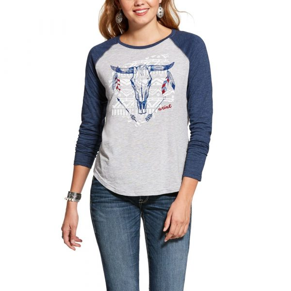 F20 Ariat Womens Born to be Free Shirt
