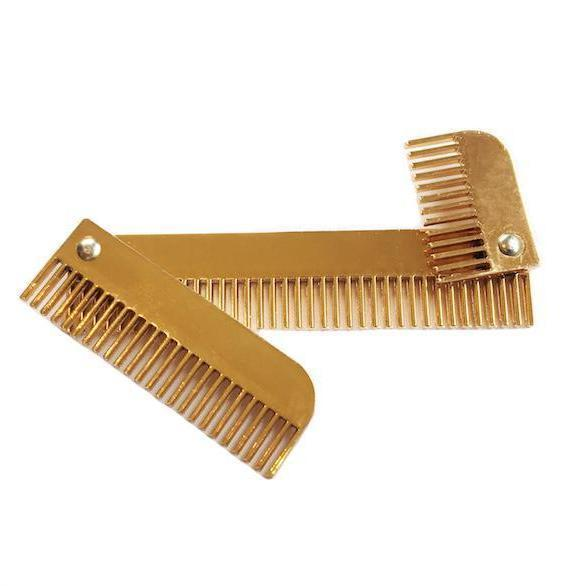 Mane Sectioning comb- Hairy Pony