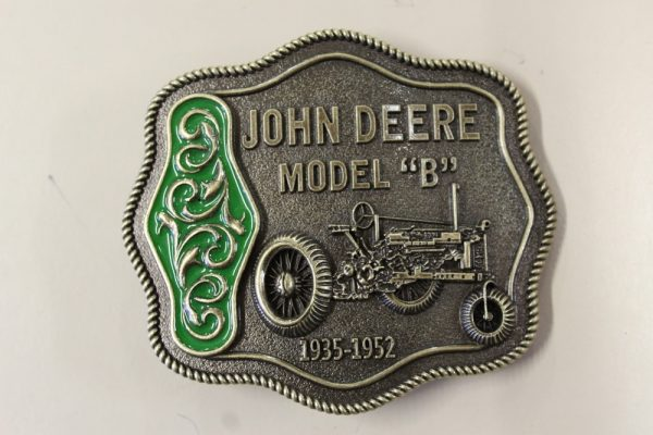 John Deere Model Belt Buckle