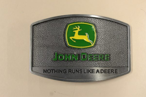 Nothing runs like John Deere Belt Buckle