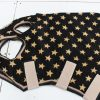 Heads To Tails- Gold & Black Stars- Small Pony
