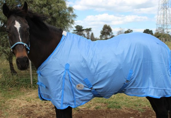 Baby Blue Full mesh Rugs 410g mesh REDUCED TO CLEAR