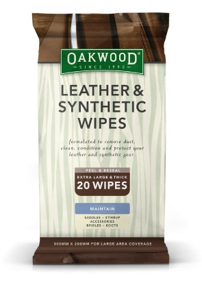 Leather and synthetic wipes