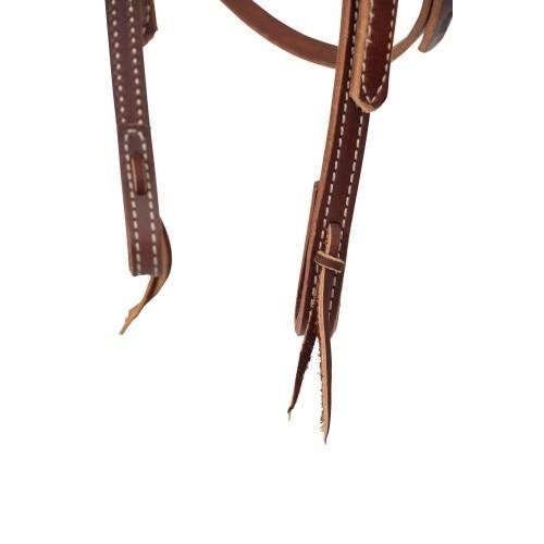 Weaver Deluxe Latigo Headstall