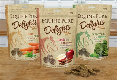 Equine Pure Delights- Horse Treats- 500g