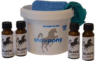 Showpony colour Black