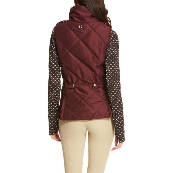 Ariat Terrace vest Malbec