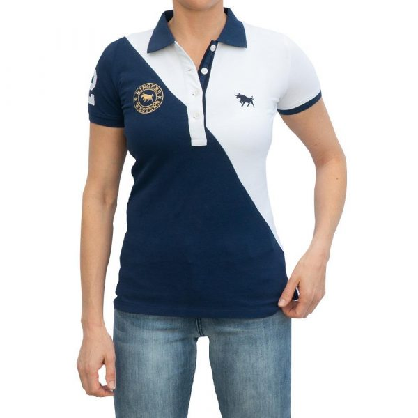 Ringers Western Arena Womens Fashion Polo Navy