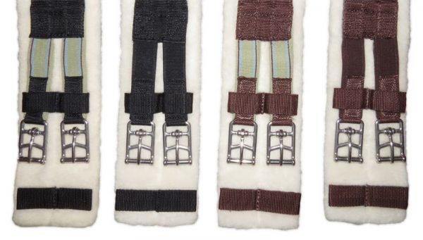 Equinenz Wool dressage girth
